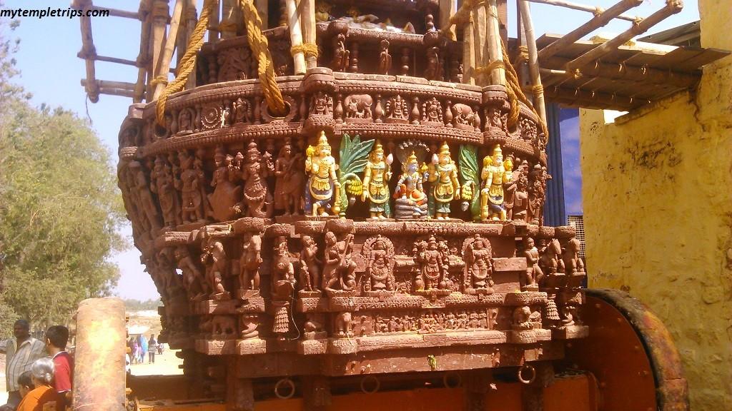 chariot - Srirangapatna Ranganathaswamy Temple - Adi Ranga