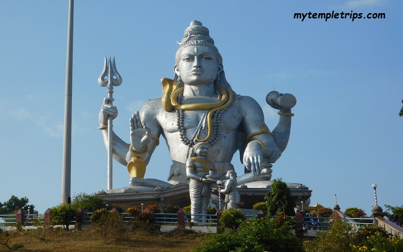 Lord Shiva Statue Jyotirlinga temples