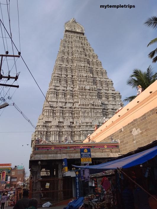 Lord Annamalaiyar temple – Tiruvannamalai – Tamil Nadu
