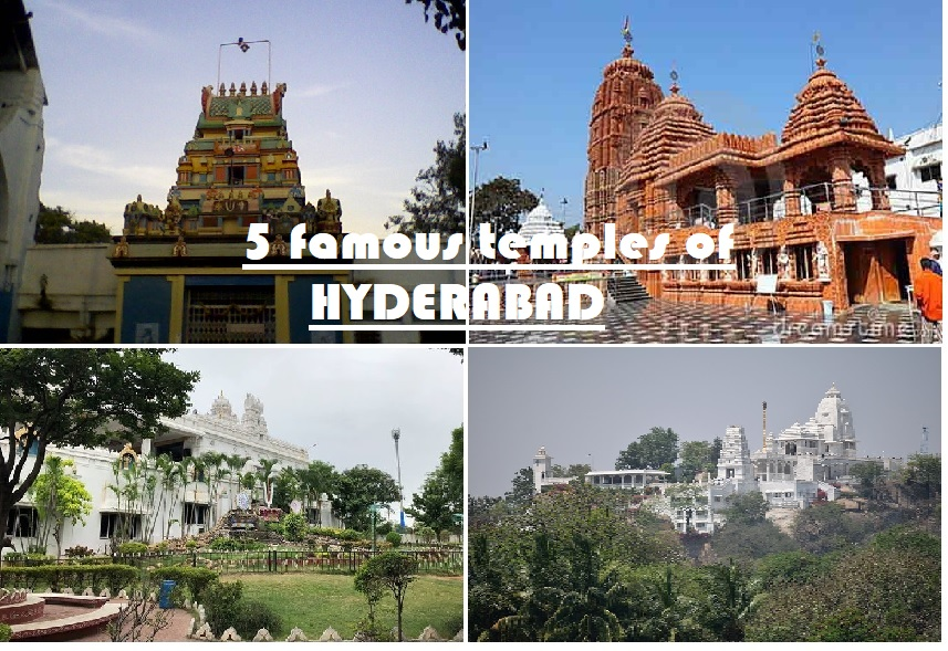 five famous temples of Hyderabad