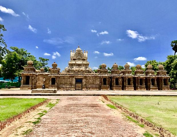 Kailasanathar Temple - famous Kanchipuram temples