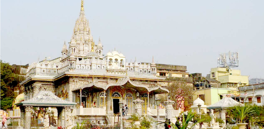 Jain glass temple kanpur
