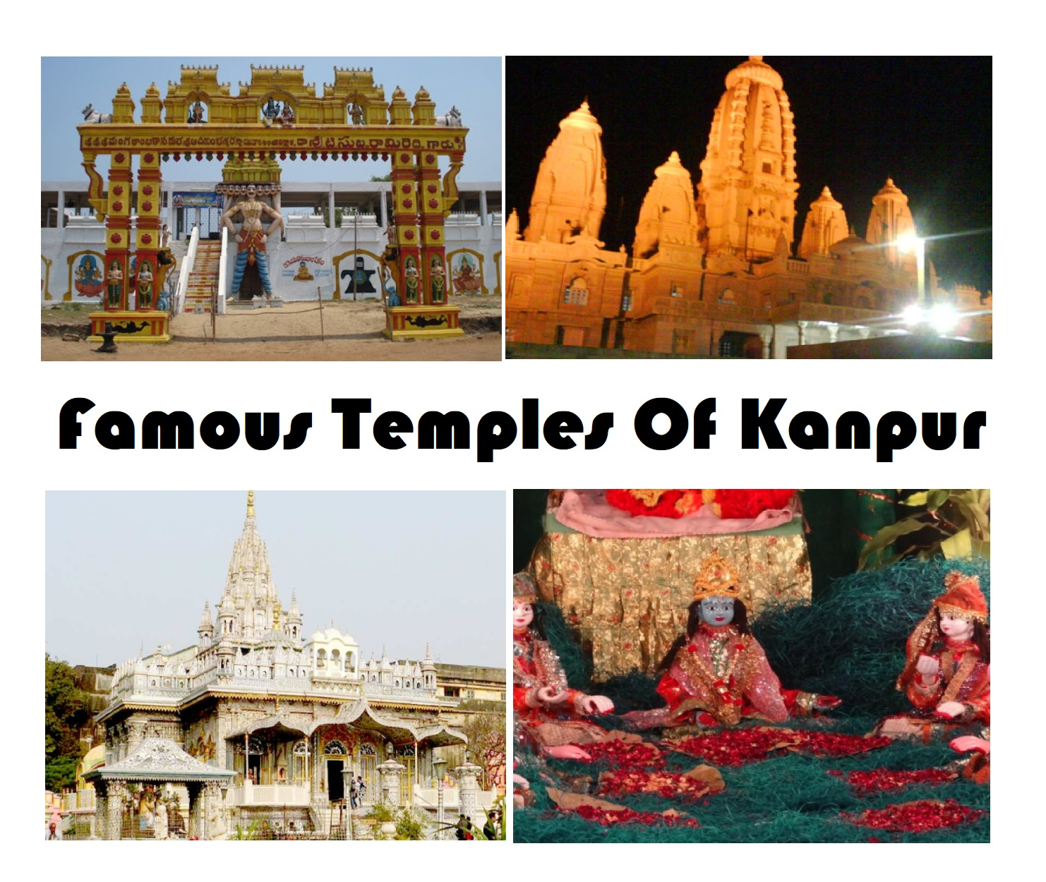 famous temples of Kanpur