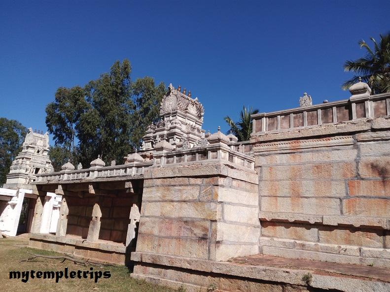 side view of Sri Ranganathaswamy Temple (Rangasthala ) - Chikkaballapur