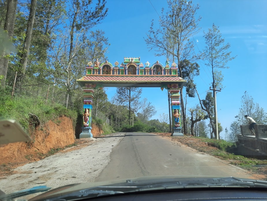 road leading to Servarayan Temple (Shevaroy Temple)