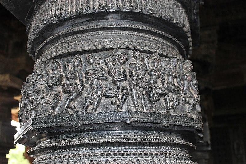 Ramappa Temple Pillar Carvings
