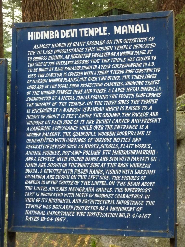 The Hadimba Devi Temple